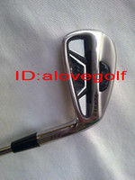 Wholesale New golf clubs golf irons Pw with dynamic gold S300 steel shaft fress ship