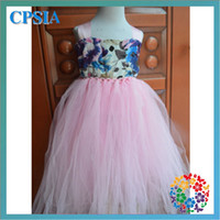 TuTu Summer Ball Gown (01)baby girl formal party long chiffon dresses Baby Tutu Gowns 12 sets lot purple and pink 2 layrs dress adjustable chest 6 sizes