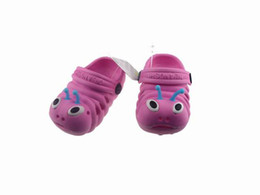Wholesale 2012 Summer Clearance Specials Super cheap children sandals baby Caterpillars slippers Beach shoes