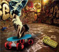 Cheap Butterfly Board skateboard Best Plastic 22 inch kidskateboard