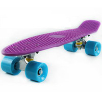 Wholesale Penny Original quot Purple Complete Cruiser Kid Christmas gift plastic Skateboard