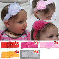Headbands Lace Floral Baby Hair Accessories Accessory Hair Clips Hair Bands Girls Hair Clips Headbands Kids Lace Flowers