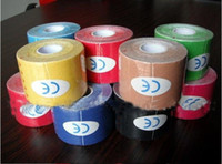 Wholesale hot sell roll kinesiology Kinesio Tape Pure cotton Ventilatior Waterproof Sports Safety CM M