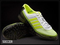 Wholesale 2012 Brand New Cheap Soccer Shoes Mesh Cleats Football Shoes Indoor Soccer Shoes Colours Size40