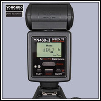 Wholesale YONGNUO Upgraded TTL Multi Speedlite Flash Unit YN II YN II for Nikon D5000 D5100 D90 D80 D70