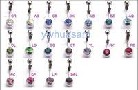 Wholesale Steel hypoallergenic navel ring navel jewelry navel ring earrings umbilical nails navel ring earring