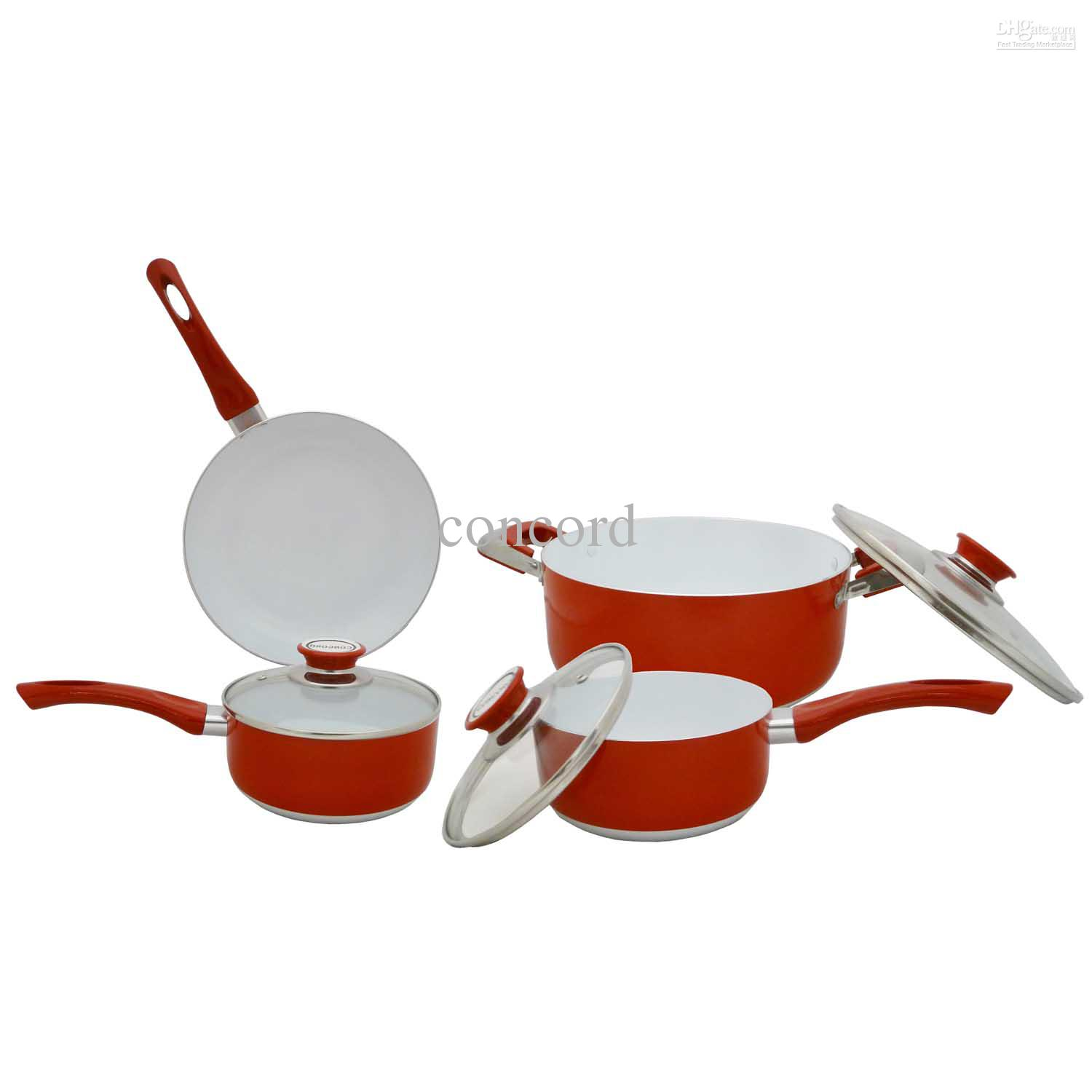 Eco Healthy Ceramic Nonstick Cookware Set from Concord,$61.79 | DHgate ...