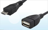 Wholesale Micro USB OTG Cable B Male to A Female Adapter Converter for Google Nexus quot MID Tablet PC