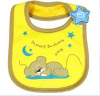 Wholesale Hot baby bibs Baby Burp Feeding Cloths children s kerchief infant towel baby neckerchief Waterproof