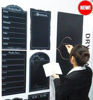 Wholesale 45cm cm blackboard stickers creative message DIY chalkboard card lovely stationery memo childre