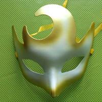 Wholesale New Halloween T Show Mask Venetian Oxhorn Mask Carnival Mask Party Masquerade Masks Colors V3607