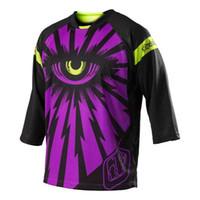 Wholesale Hot New Troy Lee Designs TLD Ruckus Jersey Motorcycle Motorcross Jersey Cyclops Purple