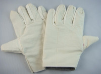 Safety Gloves work gloves - Double canvas gloves machinery factory gloves oil resistant gloves gloves work gloves to increas