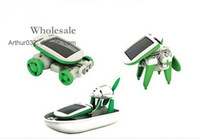 Wholesale Best Serving in Educational DIY Solar Robot Kit Toy Boat Fan Car Power Moving Dog