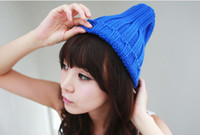 Wholesale New Arrival Women Winter Hat Fashion Warm Autumn Knitted Caps Beanie Hats For Women