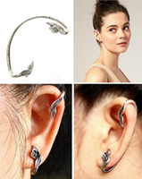 Wholesale Fashion Earrings Floret Rattan Winding Stud Earrings Vintage Ear Cuff Earring Women Jewelry J381