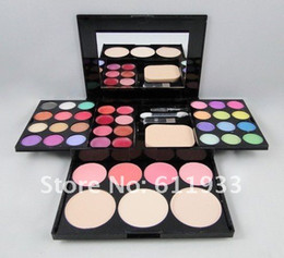 Wholesale ADS Fashion Shadow Palette colors color lip gloss blush block powder new hot sale FREE SH