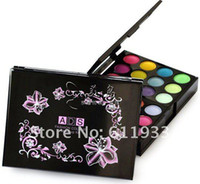24 colors ad colors - ADS Fashion makeup eyeShadow Palette colors color lip gloss blush block powder FREE SH