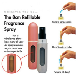 Wholesale 4ml travel perfume bottle atomizers at manufacturer direct price high quality hot a093