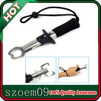 Wholesale New cm Professional Grabber Landing Fish Tool Wrist Strap Fishing Lip Grip