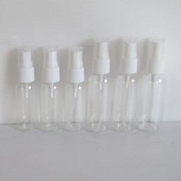 Wholesale 50ml transparent packing bottle plastic spray bottle plastic bottle perfume bottle a094