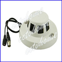 Wholesale Mini Smoke Detector Hidden TVL CMOS mm security Video CCTV camera