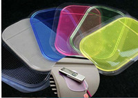 Wholesale Magic Car Anti Slip Sticky Pad Mat for PDA Mp3 MP5 GPS iphone s GS ipod