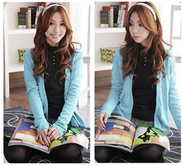 Wholesale The wild cardigan sweaters woman s sweater lady s sweaters long sleeved cardigan sweater colors