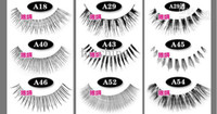 Wholesale false eyelashes multi choices natural slim thick sexy pairs