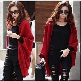 Wholesale Korea Women Hollow Sweater Shawl Shrug Knitwear Cardigan Colors For Selection