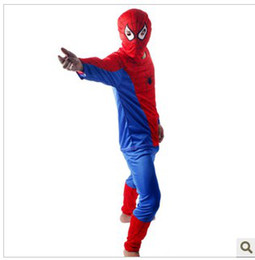 Wholesale HOT SALE The Halloween costumes Spiderman tights adults Cloths Spiderman clothes suit