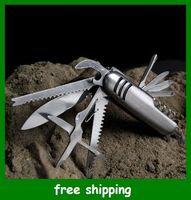 Knife Sets wine opener set - Hot Selling Wine Tool Opener knife Multi function Saber Eleven surgery Christmas Gifts