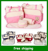 Wet Dry baby nursery colors - Popular diaper bag mummy packet baby bags nursery package Mama packs colors set
