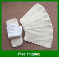 Wholesale Popular Layers Diaper Liners New Super Absorbent Bamboo baby Cloth Diaper Inserts