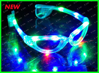 Wholesale Hot sell Best price Led sunglasses glasses gave light glow stick party funk
