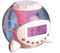 Wholesale Popular mini alarm clock colors alarm clock with LED timer calculagraph thermom