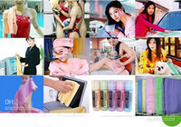 Wholesale Multi functional synthetic chamois towel powerful absorbent dry towel PVA bath hair car