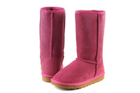 Wholesale Xmas winter warm shoes classic snow boots tall rose style for womens colors choices drop shipping