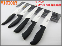 Wholesale Ceramic knife INCH Kitchen ceramic knives styles handle choose VICTORY NEW