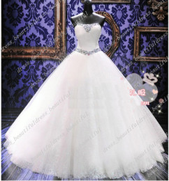 Wholesale Dazzling Crystal Stones NEW Ball Gown Sweetheart Bridal Wedding Gowns Wedding Dresses Bridal Dresses