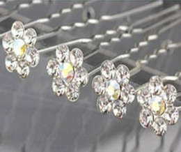 Wholesale Clear Gemstone Crystal Hair Pins up Wedding Bridal Jewelry Hair Jewelry Accessories