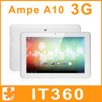 Wholesale Ampe A10 G GPS inch IPS GSM WCDMA Phone Call Dual Core Blueooth Android Tablet PC