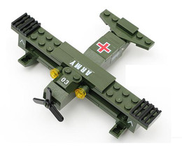 Wholesale Military model Assembly blocks accessories Medical aircraft Medical conveyor