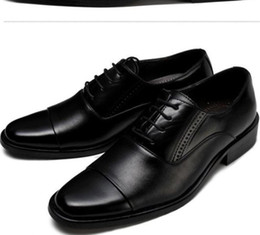 Wholesale 2012 popular black leather dress shoes men s casual shoes groom wedding shoes liqinghui2011