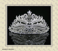 Tiaras&Crowns Rhinestone/Crystal  Wedding Bridal Accessories Crystal Veil Tiara Crown Headband CR187