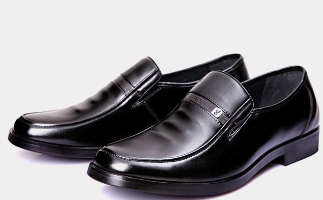 Best Selling Black Leather Dress Shoes Men's Casual Shoes Groom ...