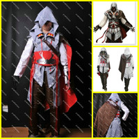 Wholesale Assassin s Creed Cosplay Costume Custom Made Assassin s Creed Ii Ezio For Women Full Set