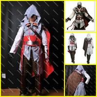 Assassin's Creed Cosplay Costume Fait sur mesure Assassin's Creed Ii Ezio Pour les Femmes Ensemble Complet
