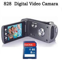 Wholesale Digital video camera with MP CMOS Sensor and Li ion battery G SD Card AB2346