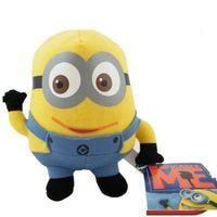 Wholesale 50pcs New Movie toy Despicable Me Minion cm Plush Doll toys Jorge Dave Stewart Plush toy
